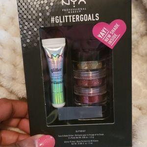 Nyx Glitter set
